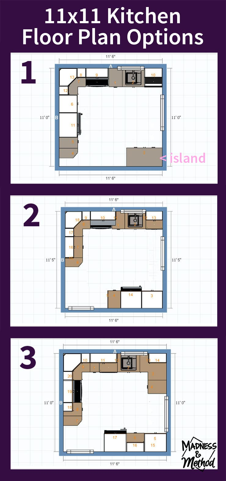 11 x kitchen floor plans thefloors co