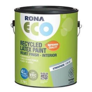 Were we going to use the Rona Eco paint in Atmosphere? Explore the wall colours, kitchen cabinet finishes, tile options (and more) that I evaluated for our DIY Kitchen Remodel.