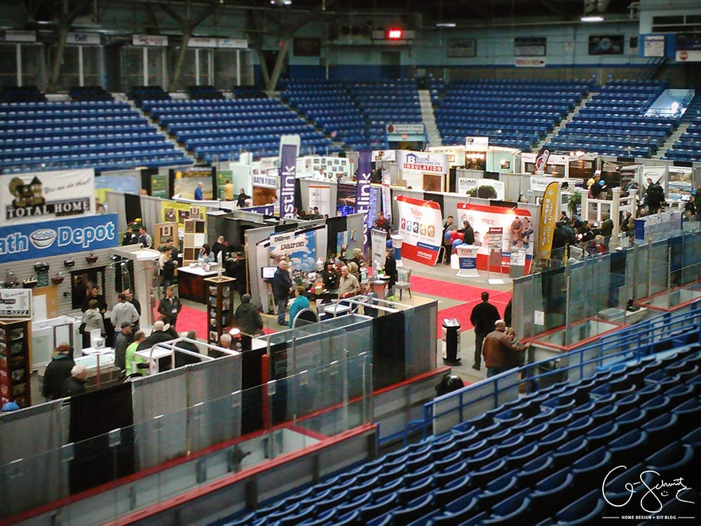 My visit and review of the Sudbury Home Builder's Association 2015 Home Show.