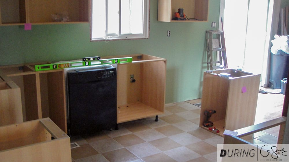 The Diy Kitchen Renovation Is Coming Together Today We Go Through Simple Process Of