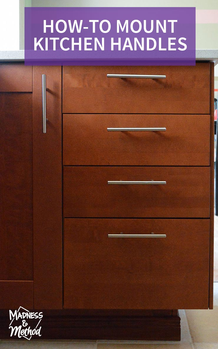 how-to mount kitchen handles graphic