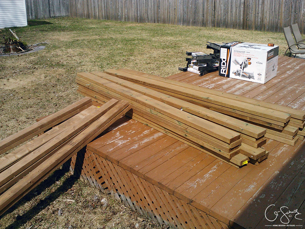 Building A Deck Bench With Brackets Madness Method