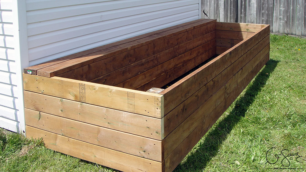 Building a Raised Garden Bed | Madness & Method