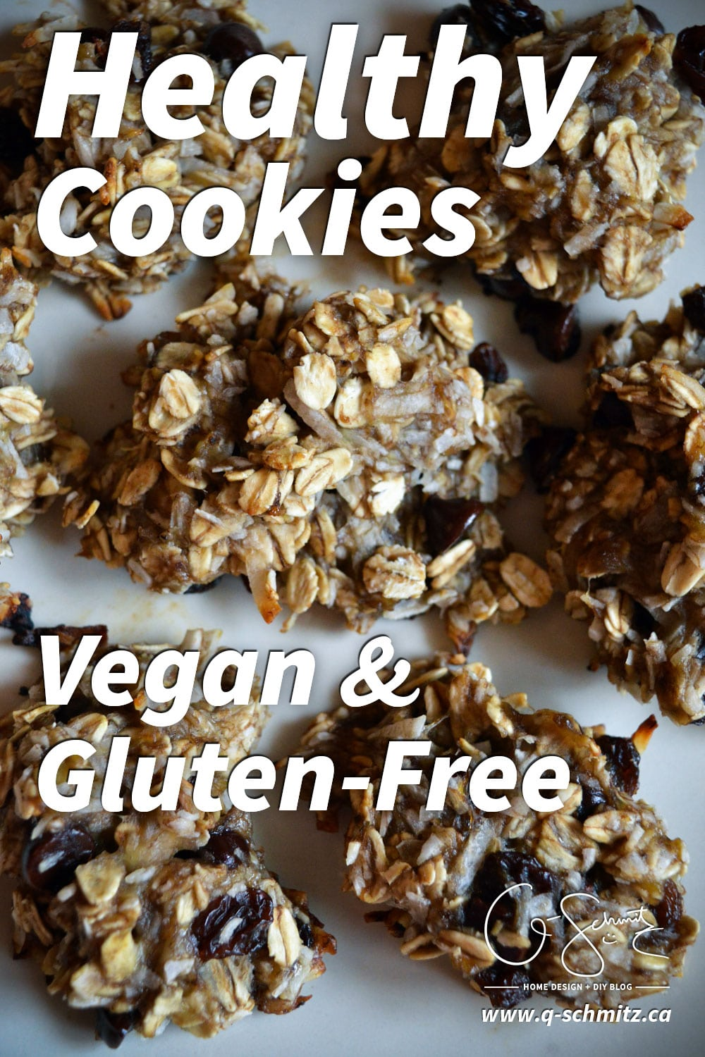 Looking for an easy dessert recipe? You can have healthy cookies that taste great! (They're vegan free AND can be gluten free as well). This is a delicious adaptation of the original 2-ingredient cookies, ready in less than 20 minutes!