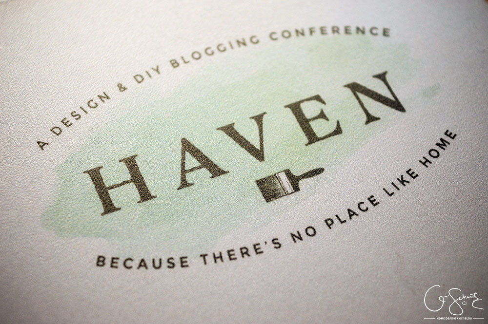 Because I live in the middle of nowhere Ontario Canada, I was super excited that I got to travel and actually meet other home and DIY bloggers at the Haven Conference! Here is a quick-ish recap of my time :)