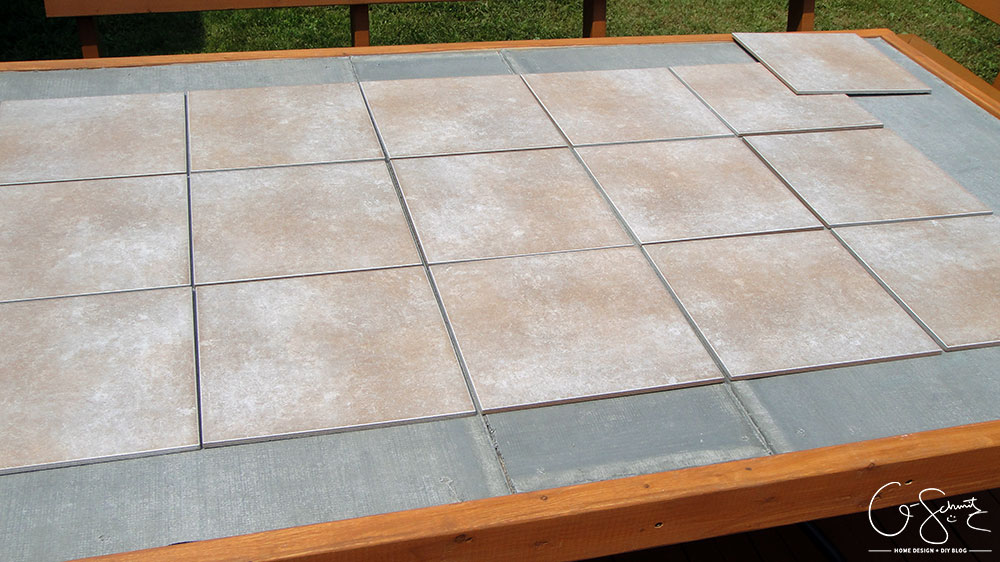 Our Custom Patio Table Madness Method