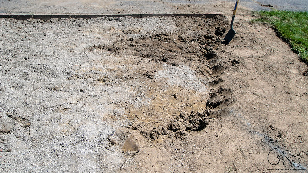 Prepping dirt for gravel is a step you don't want to skip if you're planning on doing a DIY walkway. By making sure everything is deep and level now, you'll avoid some headaches in the long run.