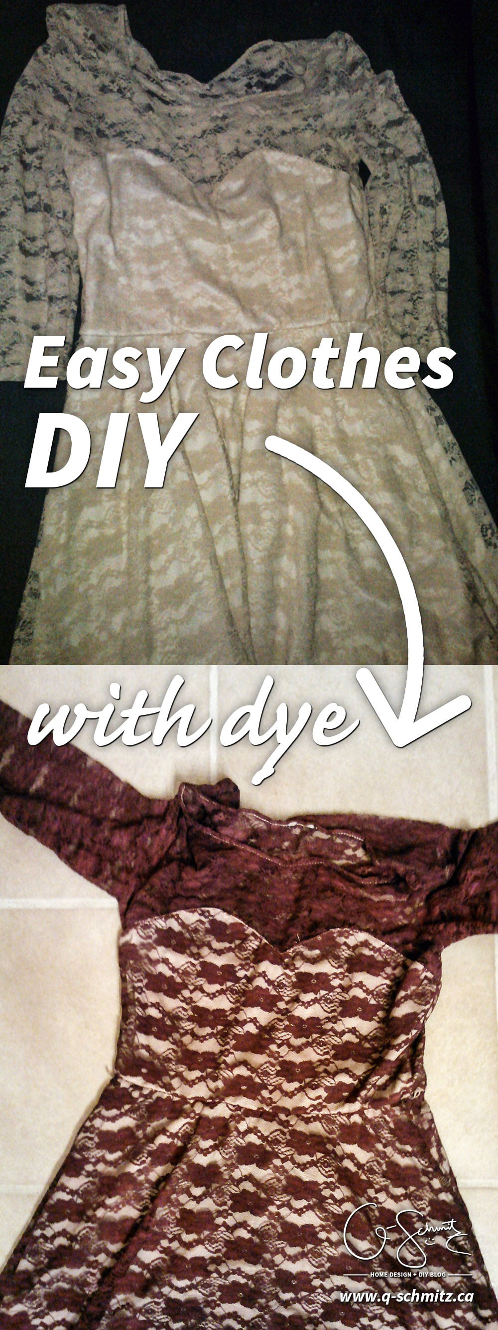Have you ever used fabric dye before? Trust me - it's super easy! Check out these easy clothing DIY projects, that can be done for less than 10$!