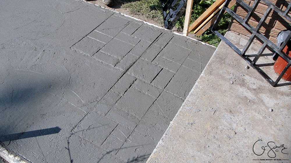Have you worked with concrete before? Although framing and pouring concrete only takes a few hours, there is a lot of preparation work involved that needs to be done beforehand.