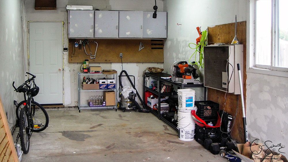 Do you have a messy garage? Cleaning and organizing the garage might not happen in one day, and it isn't always the fun-est project to do; but it's definitely worth it!
