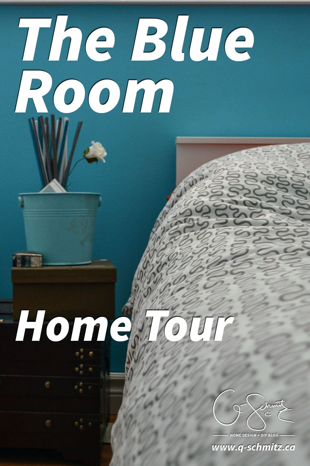 We use The Blue Room as a guest bedroom; and although I don't think the bright colour is very calming, at least our guests won't have any problems waking?