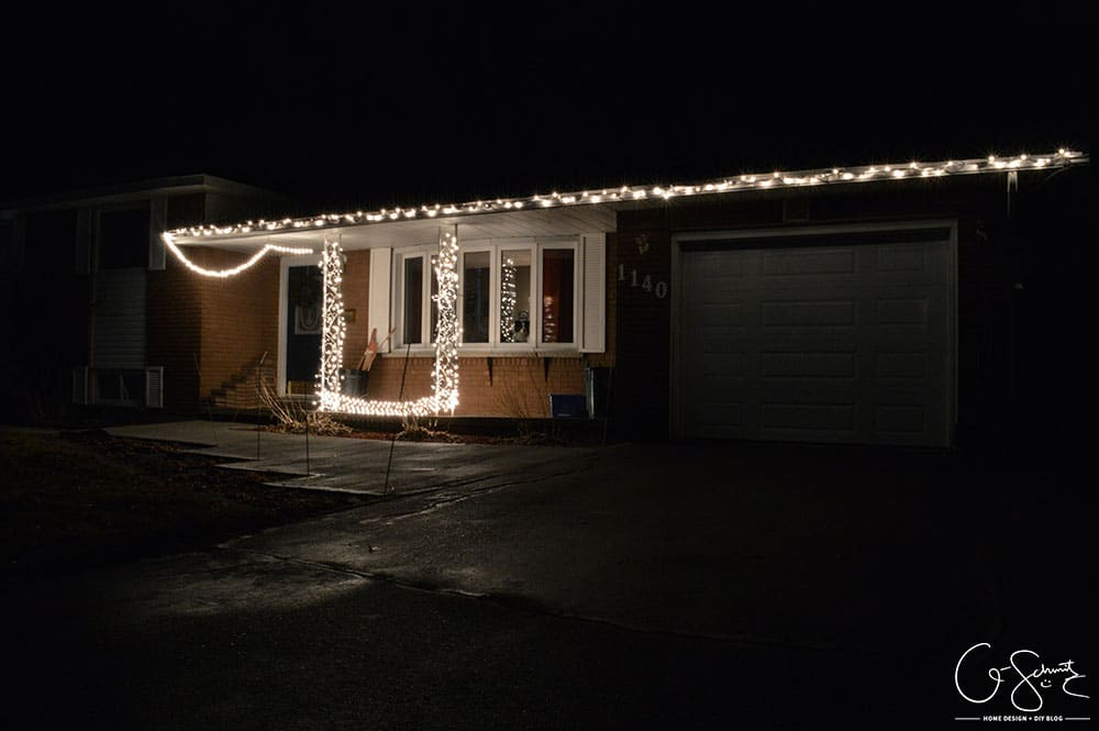 Installing Christmas lights isn't complicated as long as you are prepared before you start. And make sure to test the lights before you hang them!
