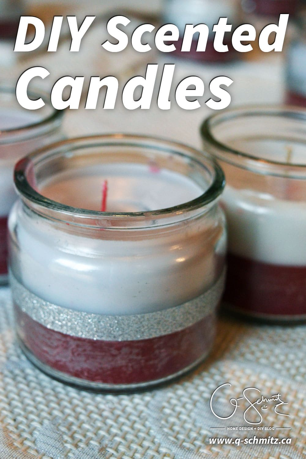 "Have you made any homemade DIY scented candles before? Or, are you constantly throwing out the ""unused"" wax and candle jars. Turn that perfectly good wax into new candles, and surprise your loved ones with your handy skills :)"