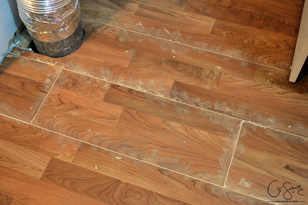 How to patch gaps in laminate floors when you have removed a wall or want to join two sections of laminate flooring together and can't snap together.