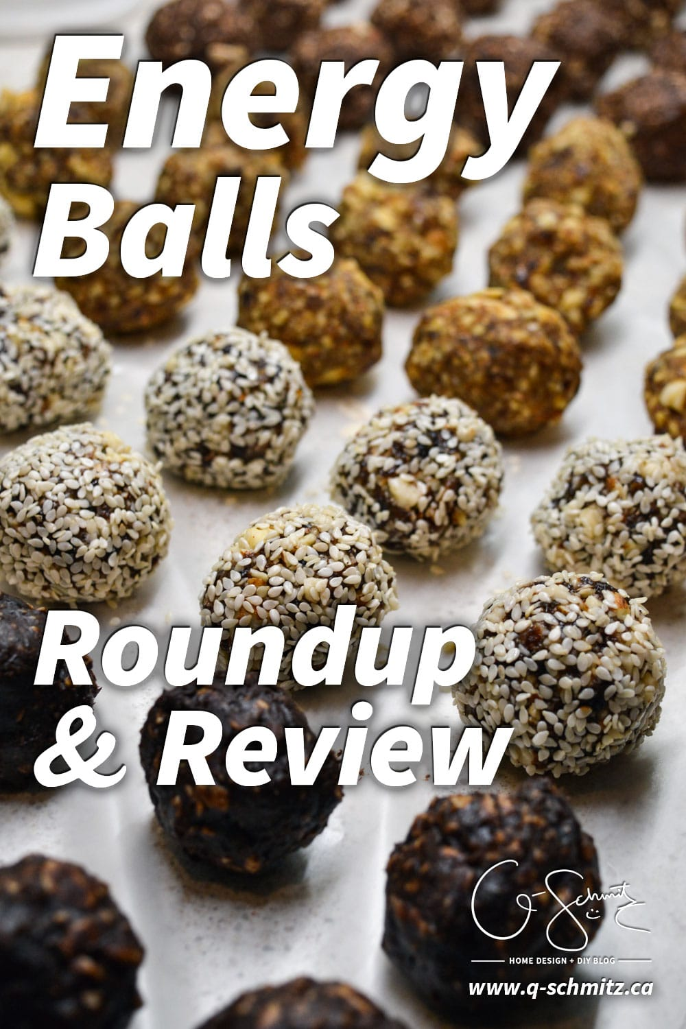 Have you ever made any energy balls or bites? (They're a great, healthy way to satisfy a snack craving in between meals!). Here's my roundup and review of some popular online energy ball recipes, all tried and tested by yours truly!