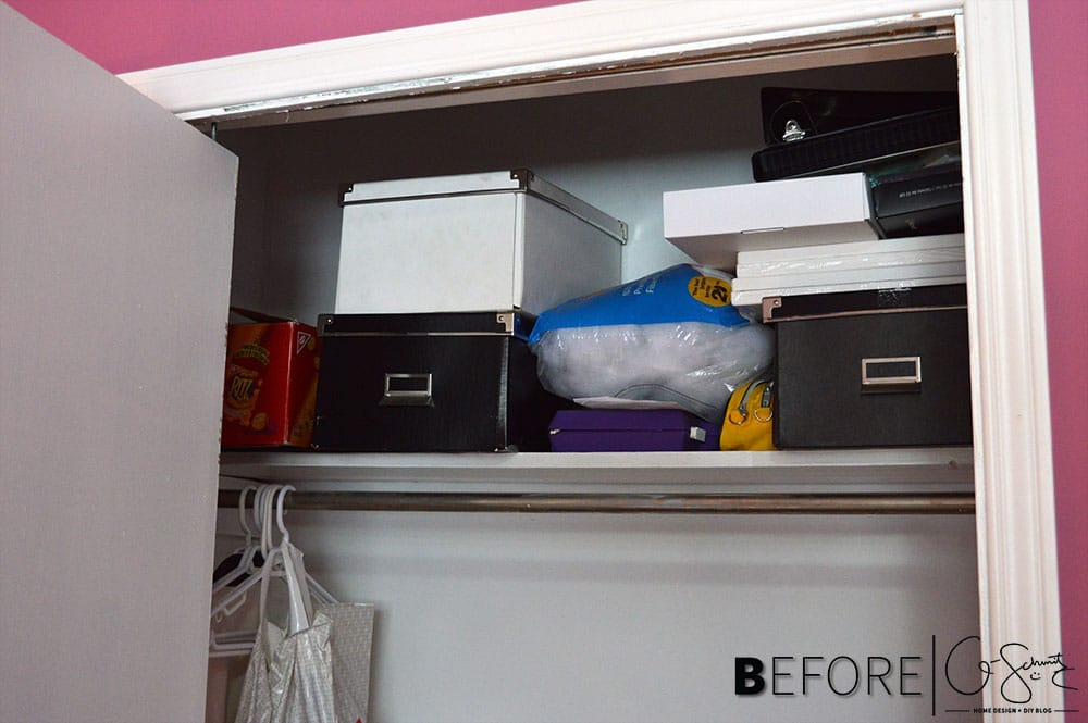 Cleaning closets and creating clutter free spaces is something that NEEDED to happen around here. Check out my tips to tackle your closets too :)