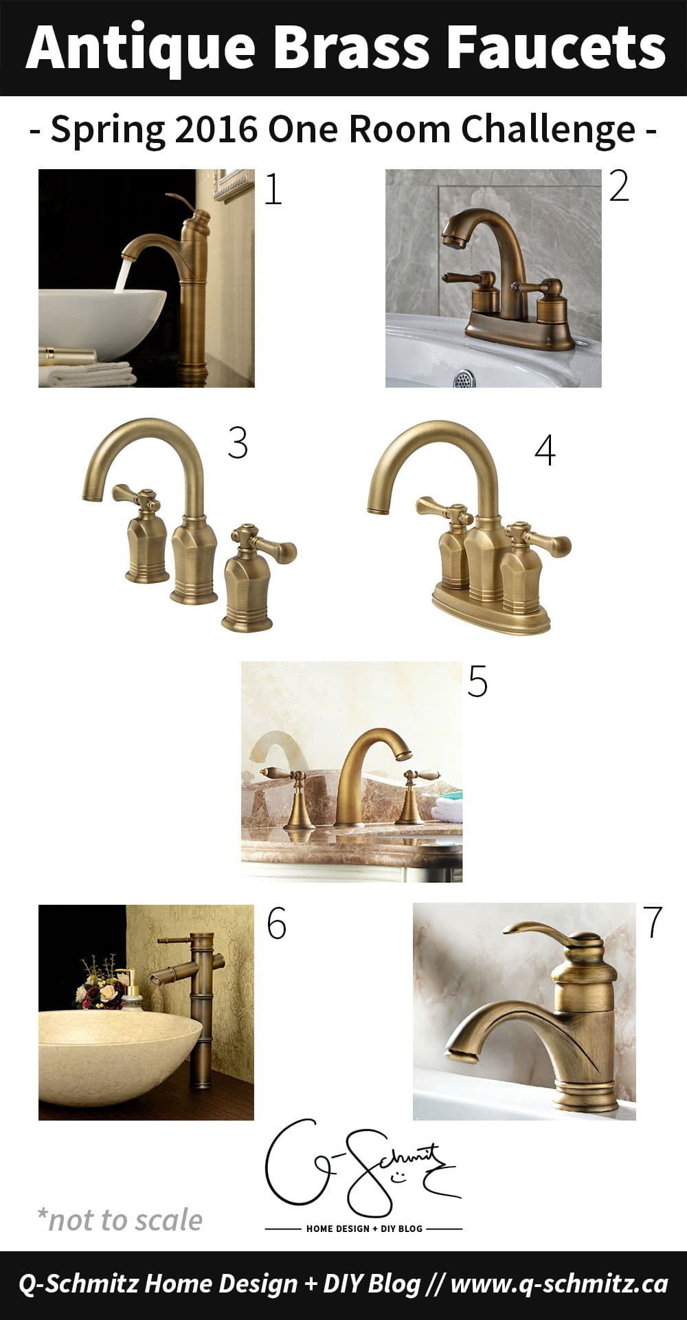 Custom Ikea Vanity + Antique Brass Faucets: ORC Week 5 | Madness ...