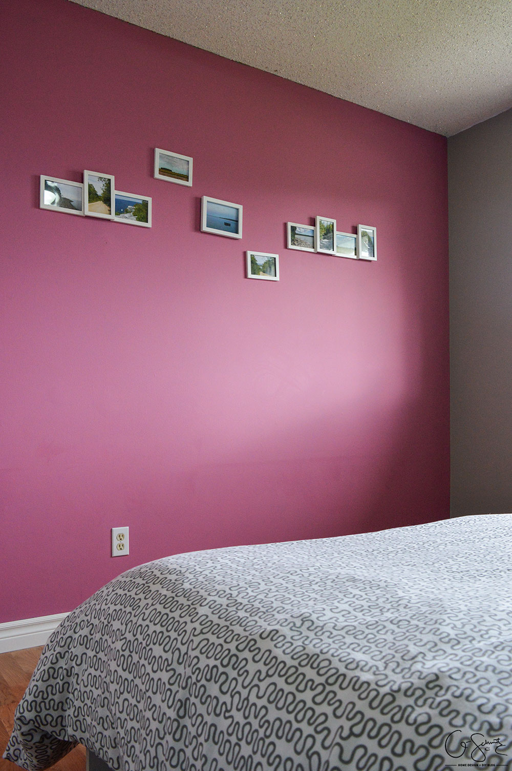 guest bedroom necessities. what was once an office is now a simple guest bedroom (with surprising accent necessities t