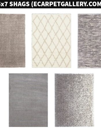 Do you like nice soft shag rugs? I sure do, and I knew it would be a great addition to our nursery! I'd like to share a bunch of shag rug options I considered.