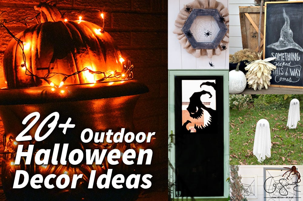 looking for outdoor halloween dcor ideas to start planning your decorations this year i - When To Start Decorating For Halloween