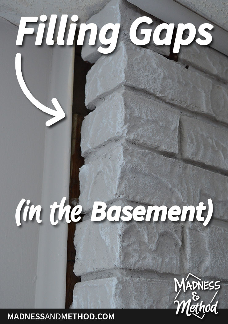 filling-gaps-in-the-basement-pinterest