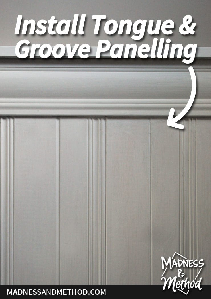 install-tongue-groove-panelling-pinterest