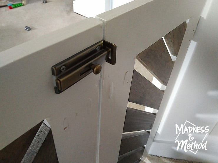 Saloon Style Diy Baby Gate Madness Method