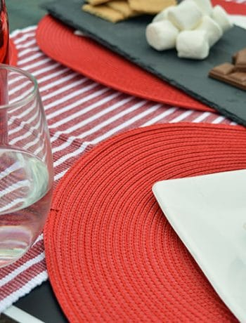What are your plans for Canada Day!? If you're planning on celebrating in style, you might want to get some red and white table décor for your event!