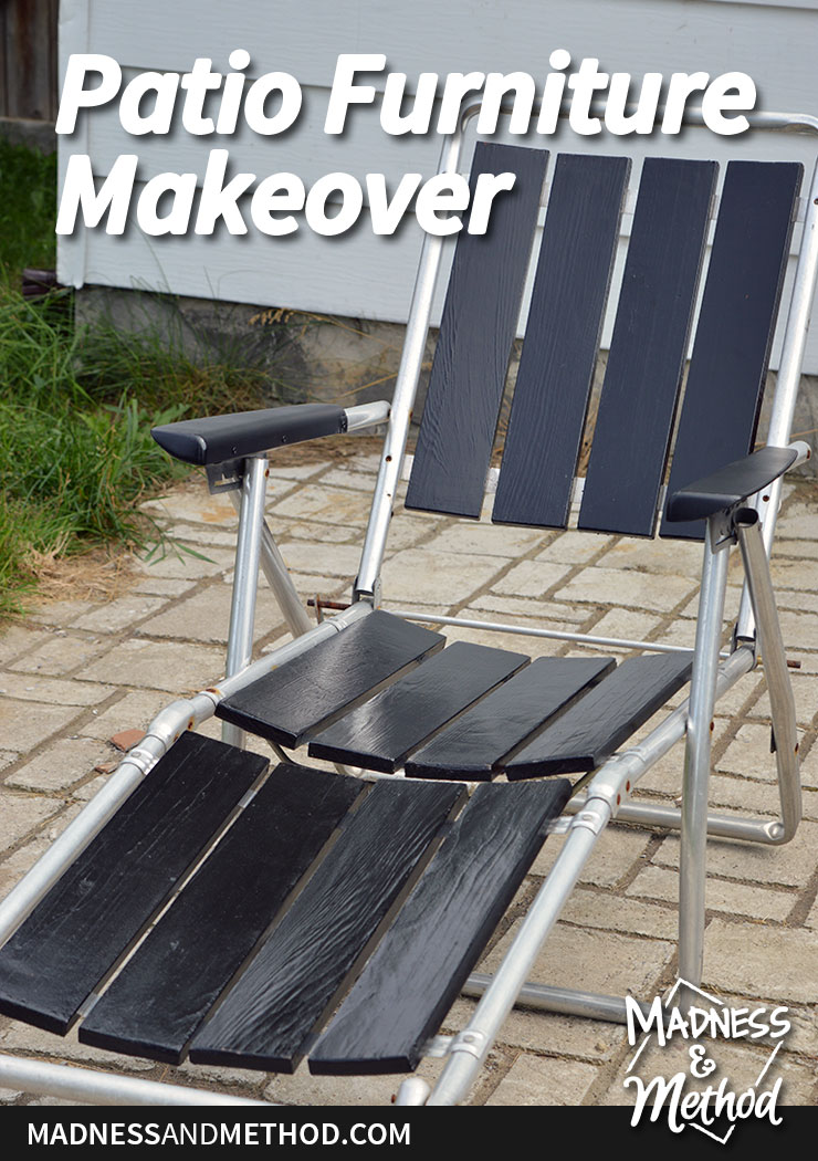 Patio furniture makeover graphic