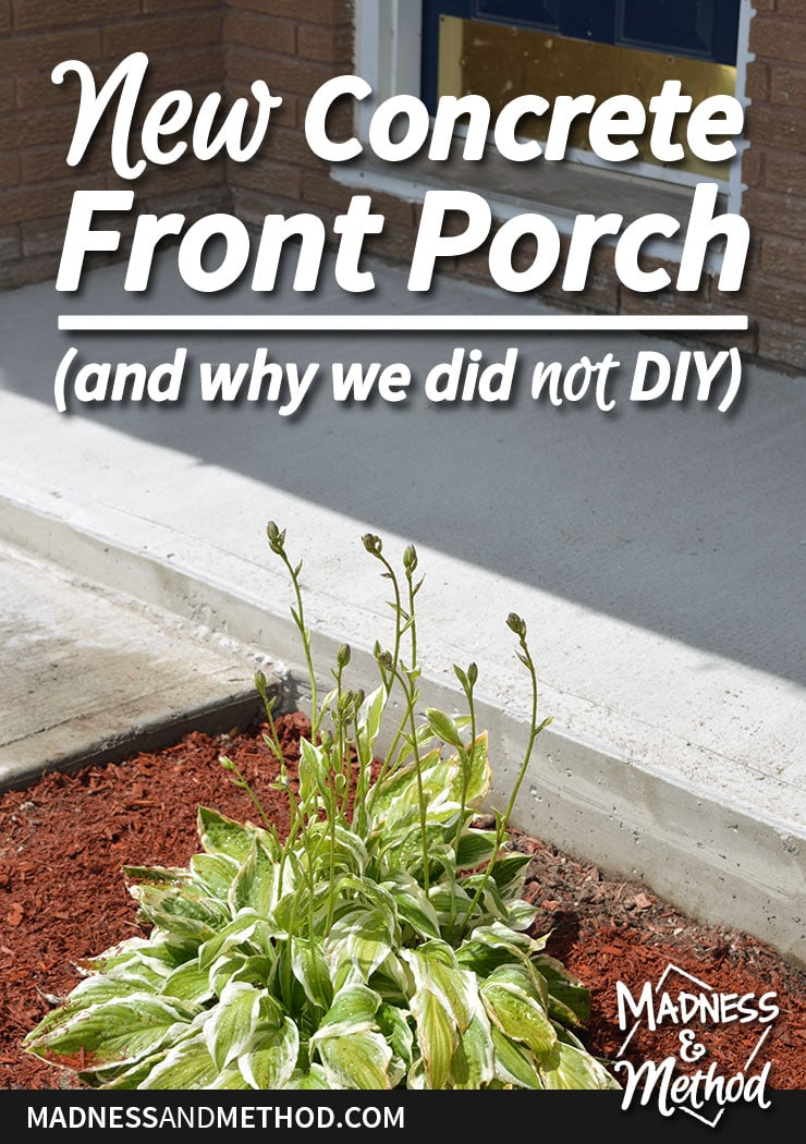 New concrete fronch porch graphic