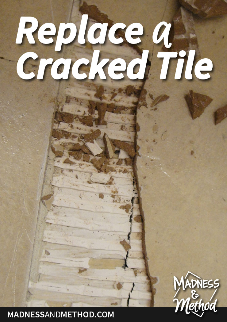 repalce cracked tile graphic