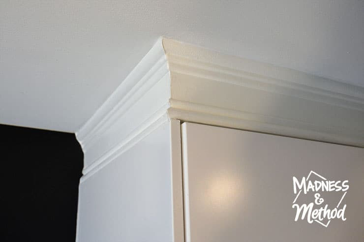 Install Trim Above Cabinets | Madness & Method