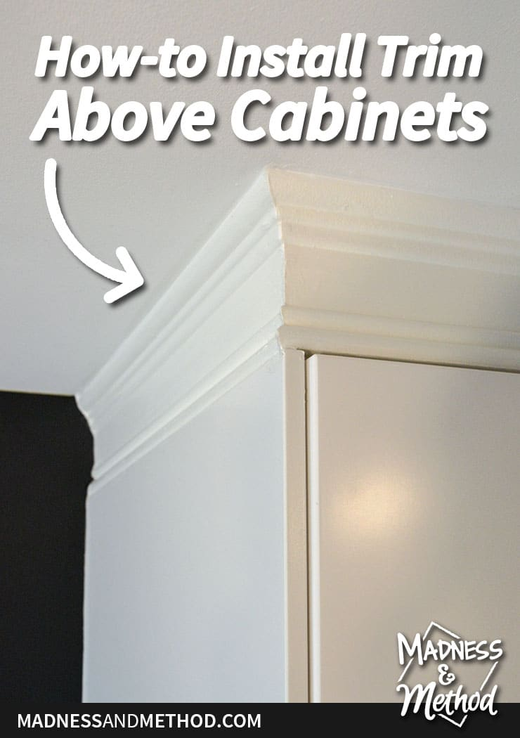 How To Install Moulding On Kitchen Cabinets