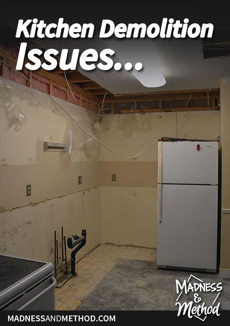 kitchen renovation issues graphic