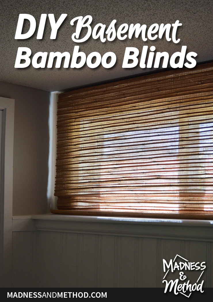 basement bamboo blind diy hack graphic