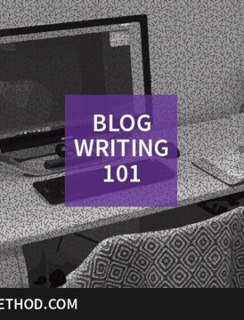 blog writing 101 feature image