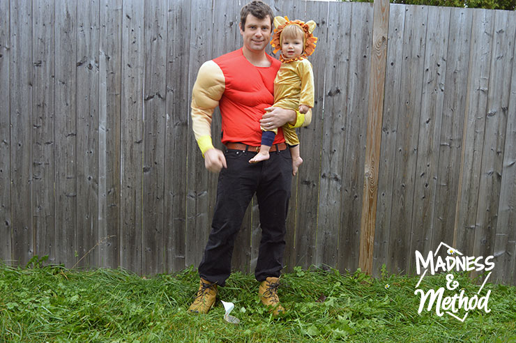 husband and baby halloween costumes