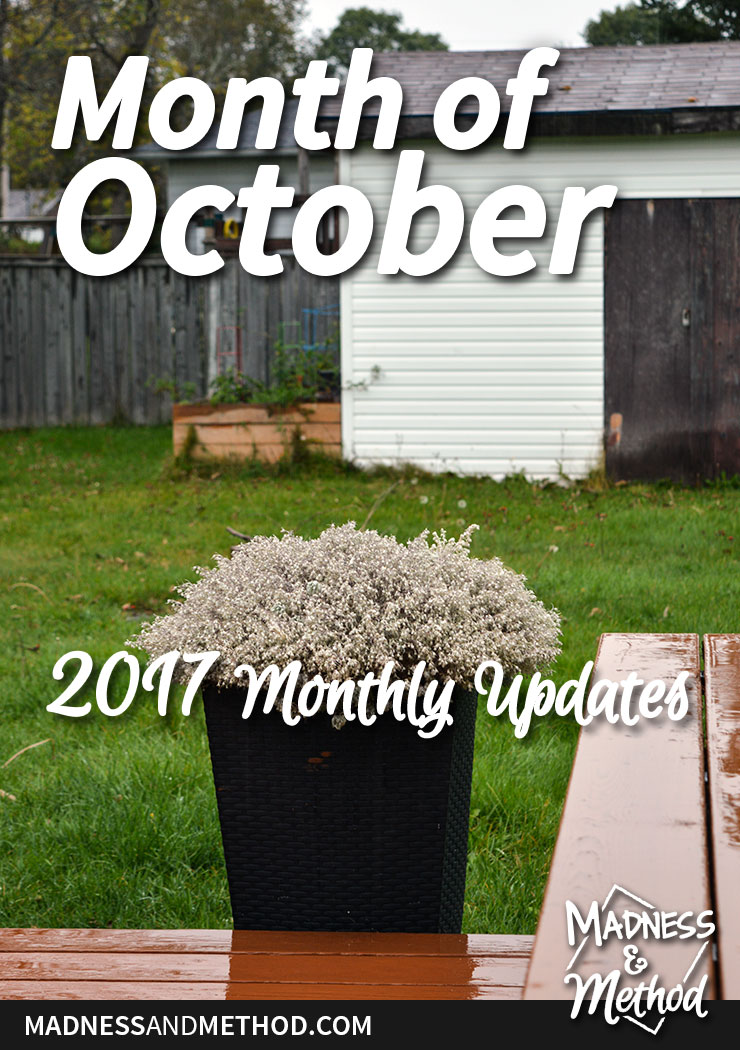 month of october graphic