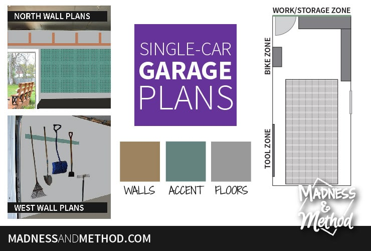 single car garage plans featured image