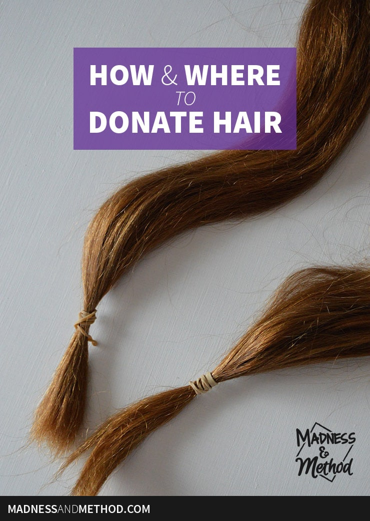 how and where to donate hair