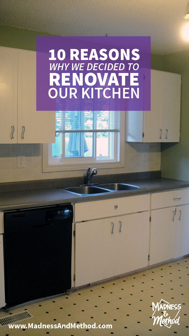 10 reasons to renovate the kitchen