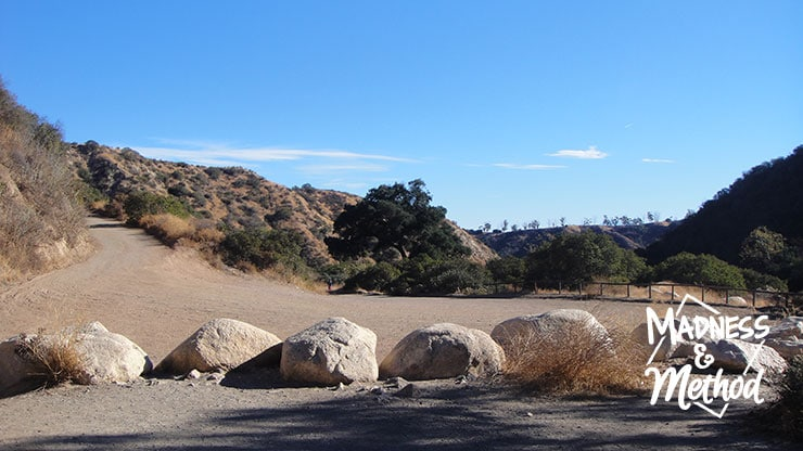 hiking trail in corona california