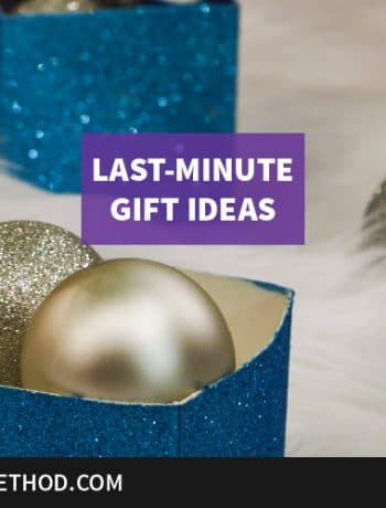 last minute gift ideas graphic feature