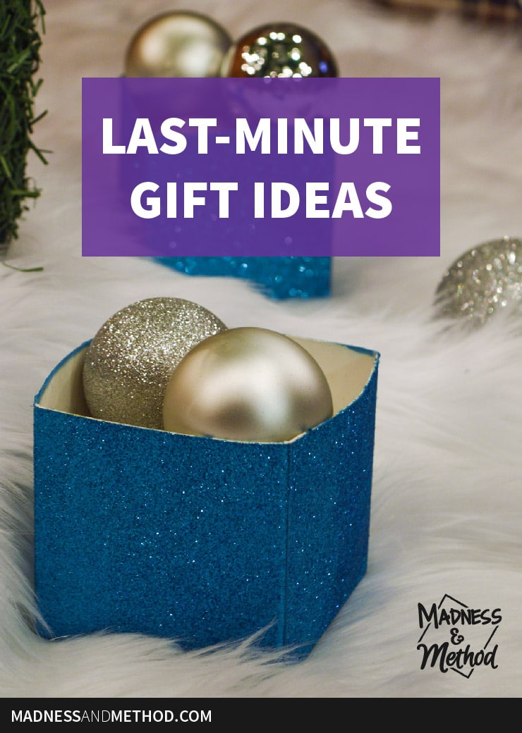 last minute gift ideas graphic pinterest
