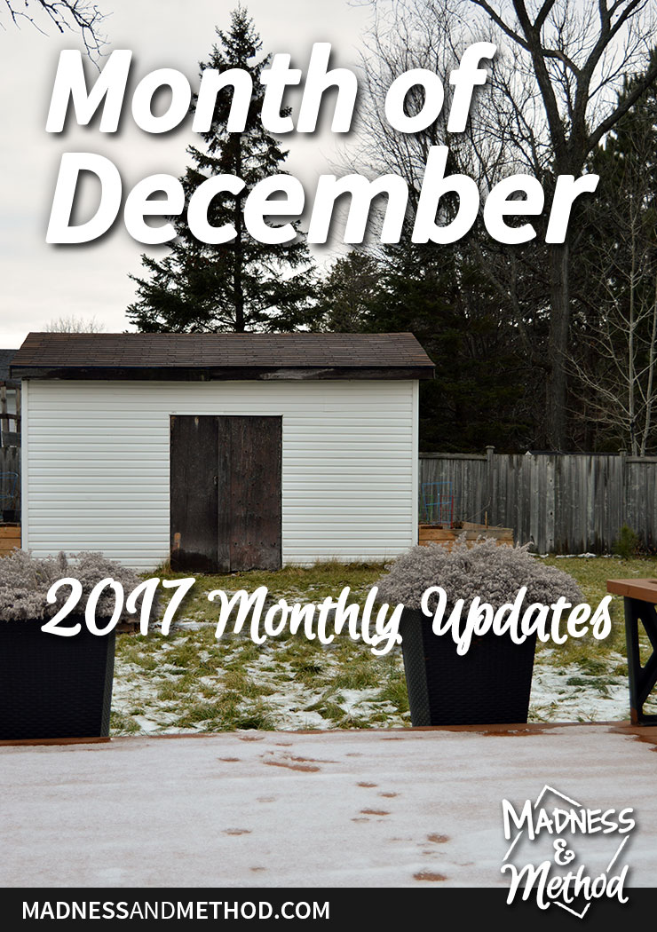 month of december 2017 graphic