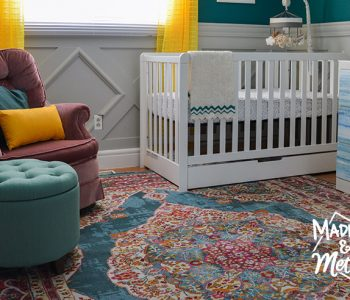 dark teal nursery