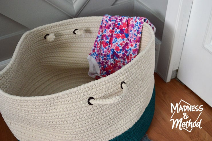storage basket for dirty laundry