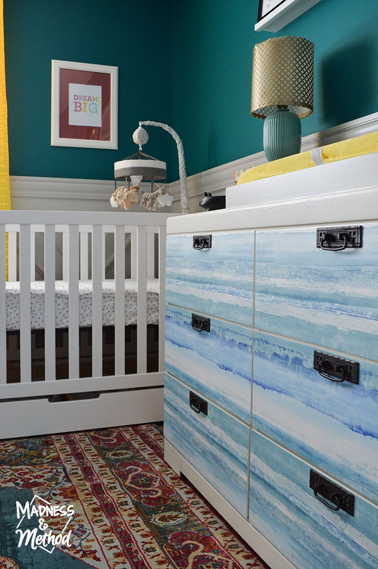 6 drawer dresser in nursery