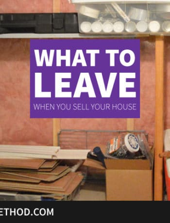 what to leave when you sell your house feature