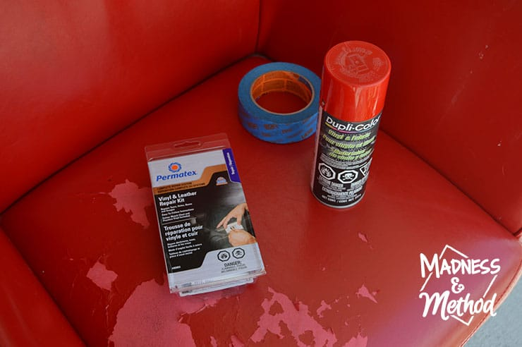 leather and vinyl repair products